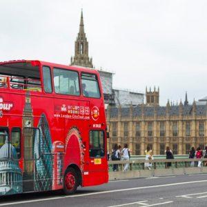 伦敦随上随下观光巴士city tour