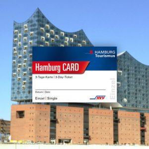 汉堡城市旅游卡,汉堡一日旅行卡,汉堡旅游卡