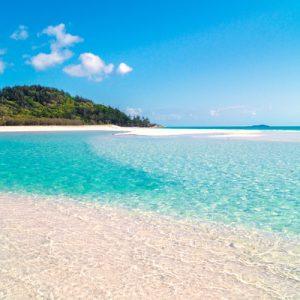 白天堂海滩