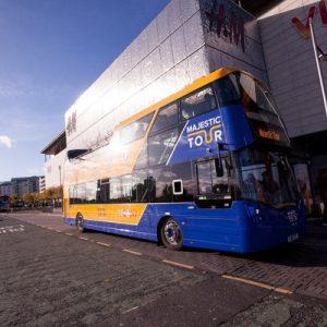 爱丁堡观光巴士24小时随上随下车票(The Majestic Tour提供)