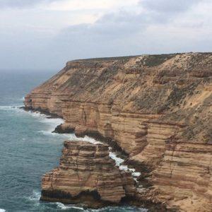 卡巴里国家公园红崖