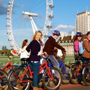 伦敦泰晤士河自行车之旅