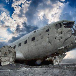 冰岛南岸小众景点一日游—DC3飞机残骸