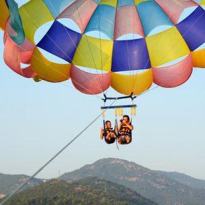 长滩岛拖曳伞