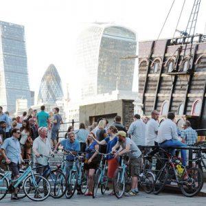 伦敦老城骑行之旅