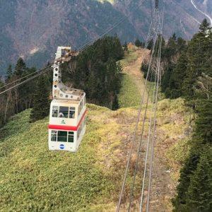 日本新穗高缆车