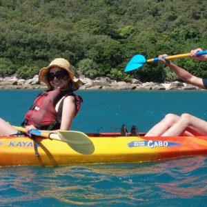 翡翠岛海上划艇一日游