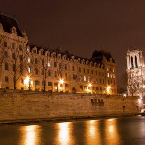 巴黎夜游:塞纳河游船 全景巴士城市观光
