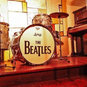 披头士故事展览馆的洞穴俱乐部复制品
