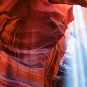 上羚羊峡谷