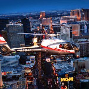 拉斯维加斯直升机观光之旅 (日间 / 夜间)