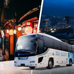 京都至东京共乘夜间巴士
