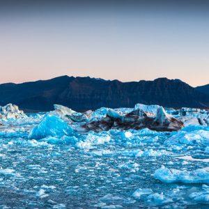 杰古沙龙冰河湖