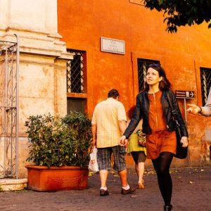 罗马市街小贩