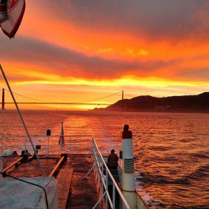 加州落日游船之旅