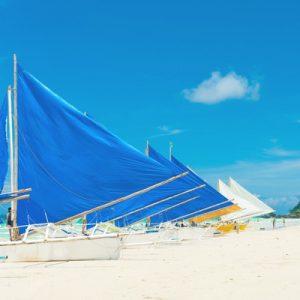 长滩岛风帆船出海体验