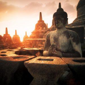 婆罗浮屠黎明日出之旅
