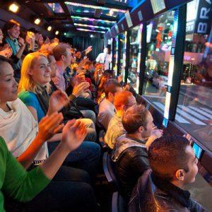 纽约The Ride移动剧院观光巴士游