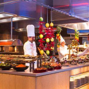 棕榈岛亚特兰蒂斯酒店Saffron自助餐
