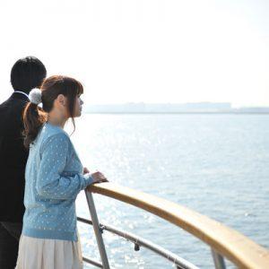 东京湾游轮,东京游轮晚间,东京湾游轮晚餐