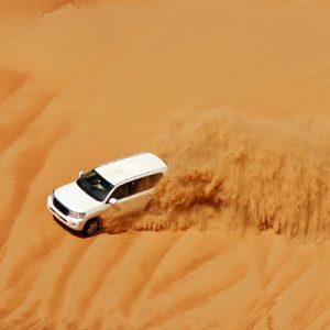 迪拜红沙丘 傍晚沙漠冲沙之旅
