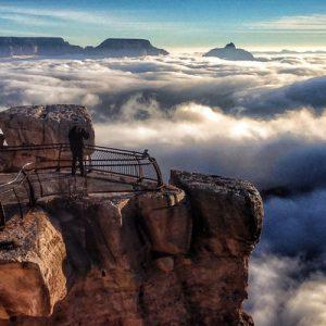 大峡谷国家公园南缘空中