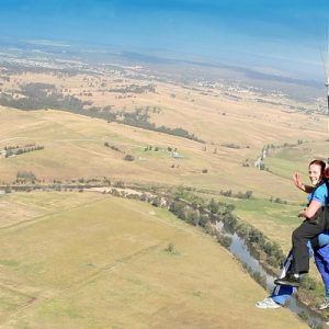 亚拉河谷高空跳伞