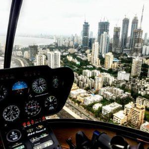 孟买直升机浪漫观光之旅