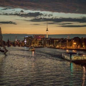 夜游柏林城市游船之旅