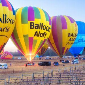 卡姆登谷热气球