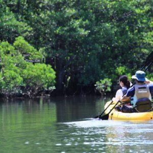 西表岛旅游,西表岛独木舟,sangara瀑布旅游,sangara瀑布独木舟,西表岛独木舟旅游,石垣岛西表岛旅游
