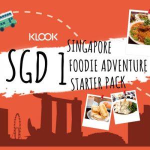 Klook客路新加坡吃货攻略大礼包