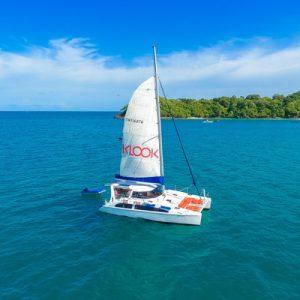 普吉岛豪华私人双体船尊尚体验,海风1160,豪华私人双体船,普吉岛游轮