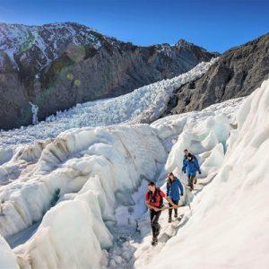 弗朗兹约瑟夫冰川直升机徒步