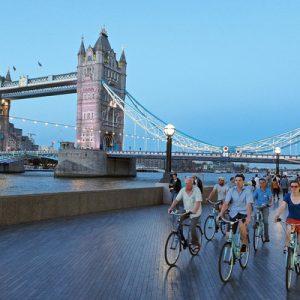 伦敦夜间骑行之旅